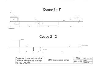 Studio neo d claration prealable pas cher for Declaration construction piscine