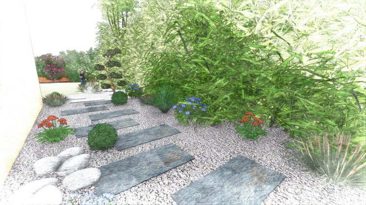 superbe ... dessinateur plan 3D paysagiste, dessinateur jardin, designer  paysagiste, concepteur 3D paysagisme, architecte paysagiste, dessin  paysagiste, ...